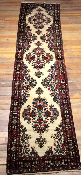 "Persian Lillhan Rug.  11'9"" x 2'9"""