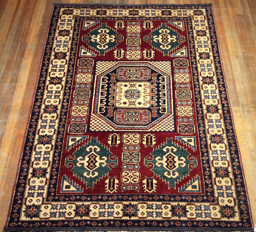 Shirvon Super Kazak Rug  8'.1