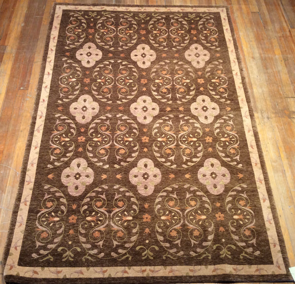"Arts and Crafts Rug  8'.6"" X 5'.6"""