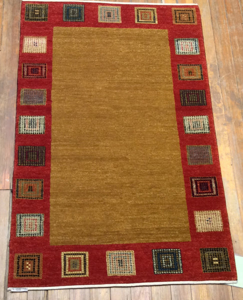 "Persian Arts & Crafts Rug   4'9"" x 3'"