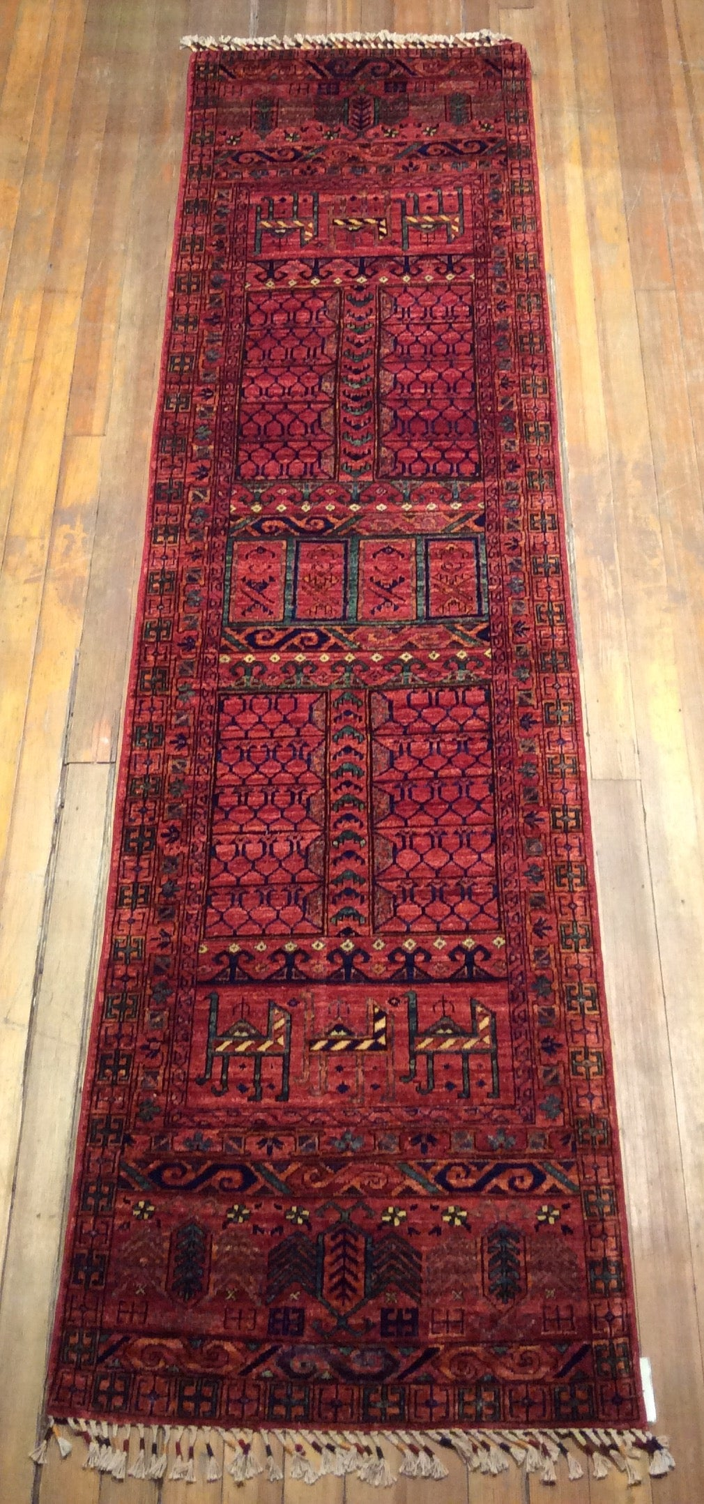 Tribal Chaudor Rug.  9'.7