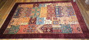 "Royal Bakthari Rug.  11'.2"" x 8'"