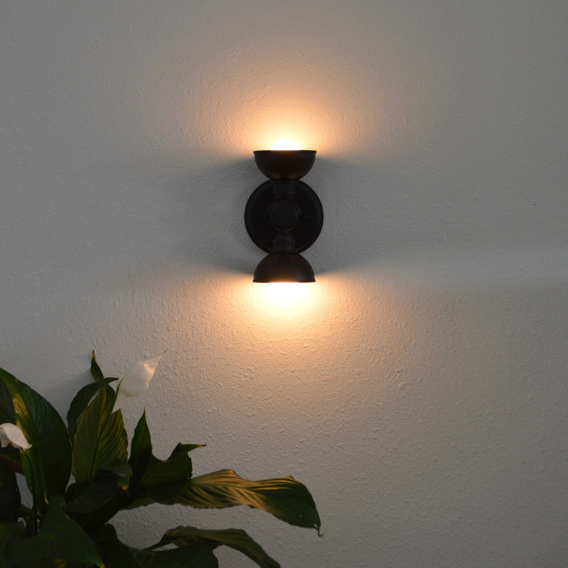 Dual Bulb Wall Sconce