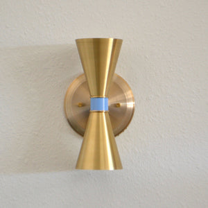 Brass ADA Wall Sconce