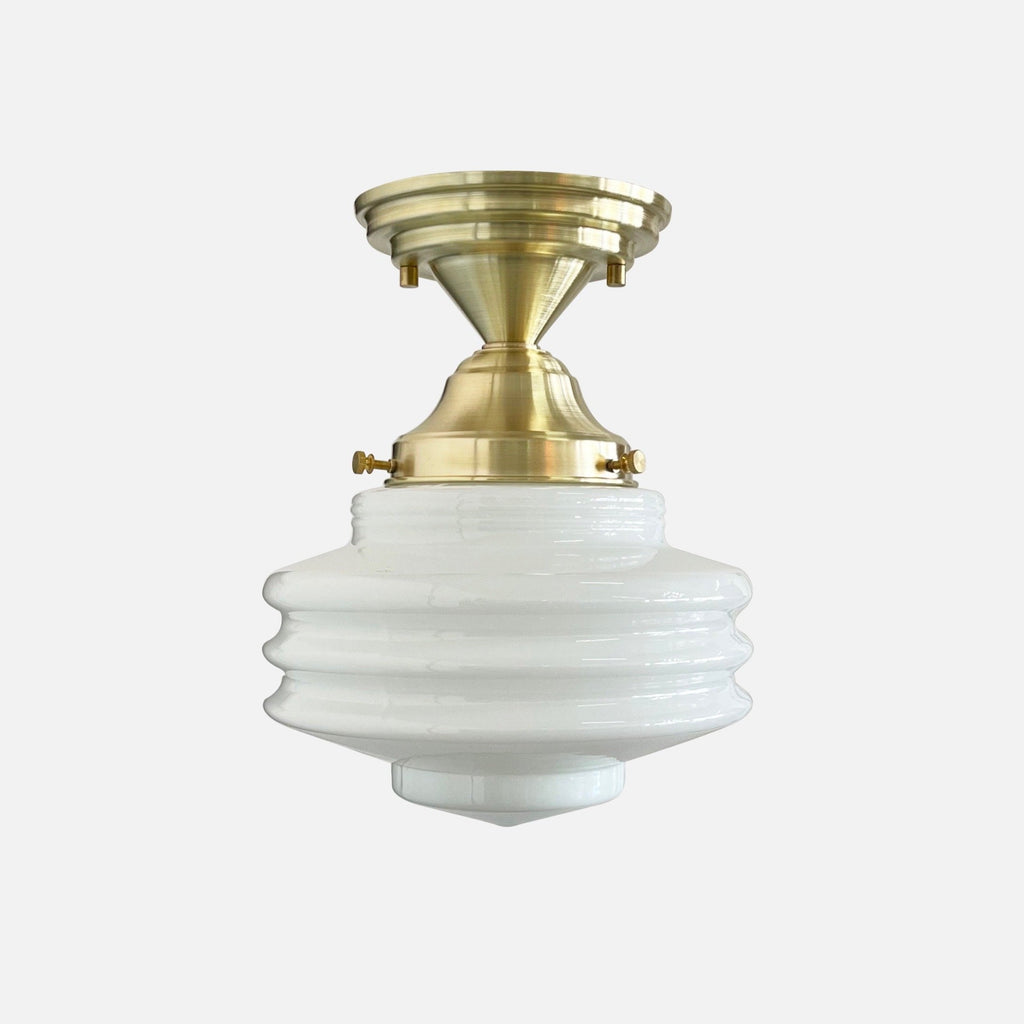 Mortimer Ceiling Fixture (Disc Shade)