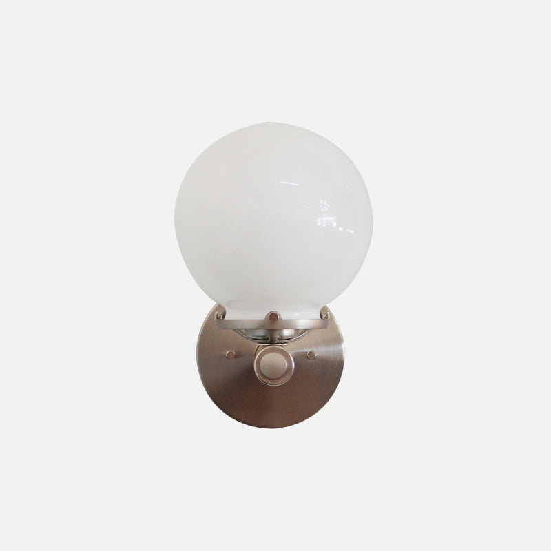 Nickel Modern Wall Sconce
