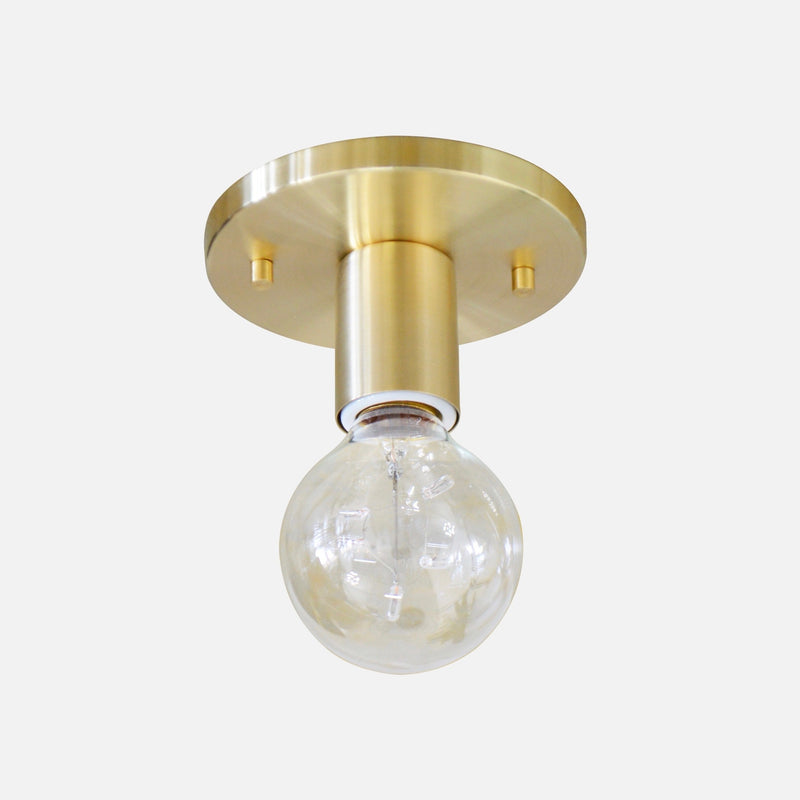 Brushed Brass Wall Sconce