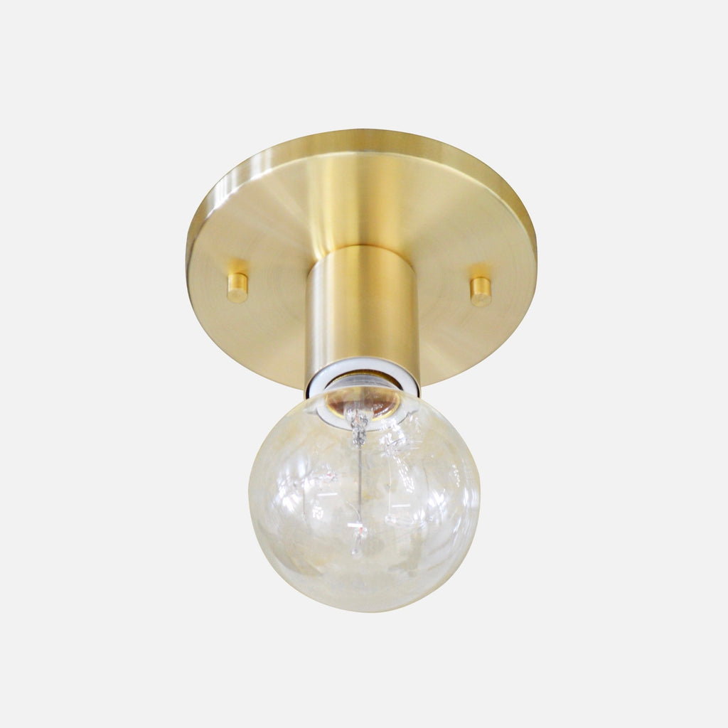 Satin Nickel Ceiling Fixture