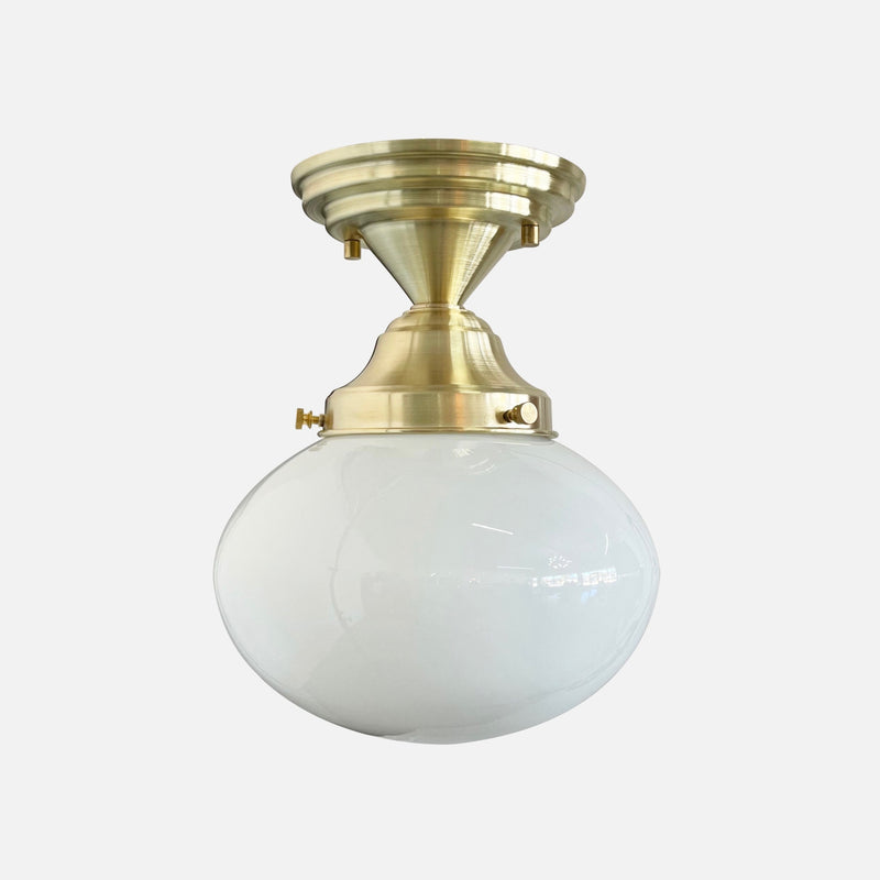 Mortimer Ceiling Fixture (oval shade)