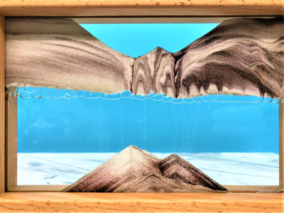 Picture of KB Collection Horizon Canyon Sand Art blue - By Klaus Bosch sold by MovingSandArt.com