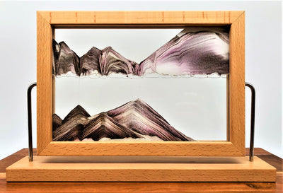 Picture of KB Collection Window Canyon Sand Art on white- By Klaus Bosch sold by MovingSandArt.com