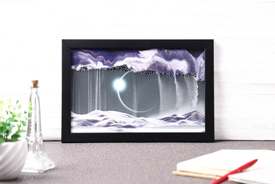 Picture of KB Collection Movie Series Wall Mount Diamond Ring Sand Art with pen- By Klaus Bosch sold by MovingSandArt.com
