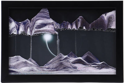Picture of KB Collection Movie Series Wall Mount Diamond Ring Sand Art- By Klaus Bosch sold by MovingSandArt.com
