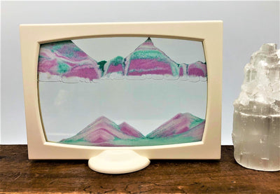 Picture of KB Collection Screenie Fairyland Sand Art Selinite tower- By Klaus Bosch sold by MovingSandArt.com