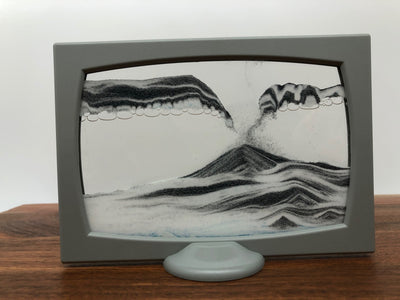 Picture of KB Collection Screenie Grey Sand Art Falling Sands- By Klaus Bosch sold by MovingSandArt.com
