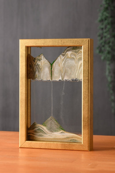NEW! Horizon Rich Gold Moving Sand Art- By Klaus Bosch