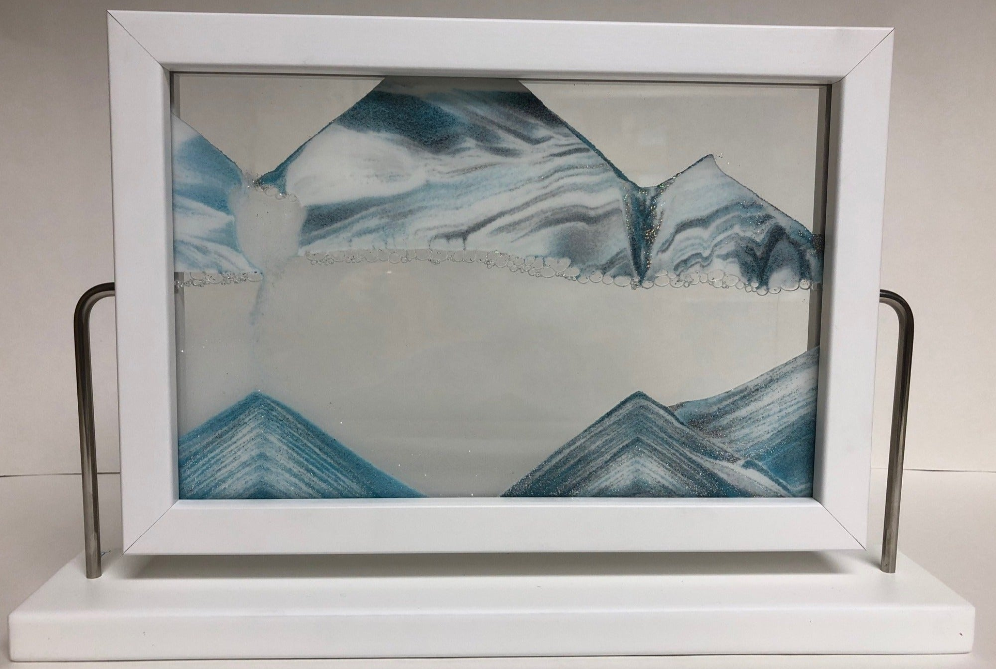 Picture of (NEW!) Window Iceberg Sand Art- By Klaus Bosch Sold By MovingSandArt.com