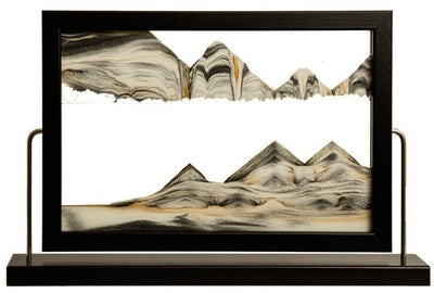 Picture of KB Collection Landscape Black Sand Art - By Klaus Bosch sold by MovingSandArt.com