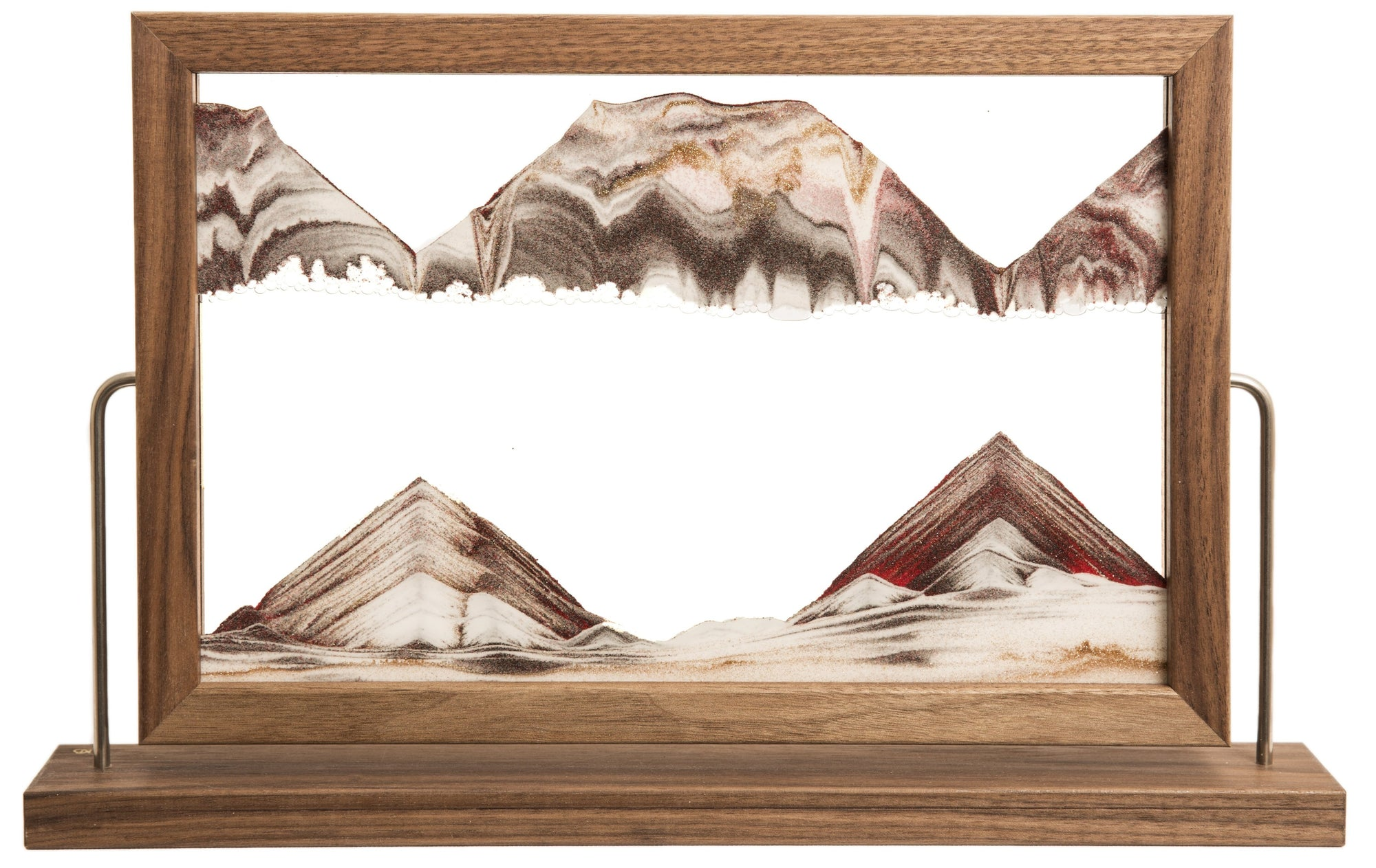 Picture of KB Collection Landscape Walnut Sand Art - By Klaus Bosch sold by MovingSandArt.com