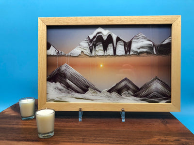 Sunset Movie Moving Sand Art- By Klaus Bosch