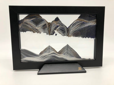 Picture of KB Collection Silhouette Night Shift Sand Art on white - By Klaus Bosch sold by MovingSandArt.com
