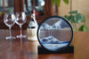 Picture of Deep Sea Omega Meteor Sand Art dining room wine- By Klaus Bosch Sold By MovingSandArt.com