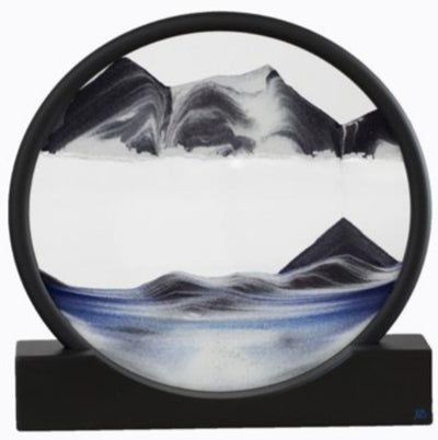 Picture of Deep Sea Omega Meteor Sand Art- By Klaus Bosch Sold By MovingSandArt.com