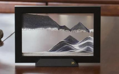 Picture of KB Collection Silhouette Night Shift Sand Art table- By Klaus Bosch sold by MovingSandArt.com