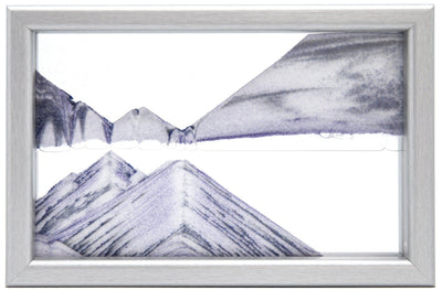 Horizon Silver Moving Sand Art- By Klaus Bosch