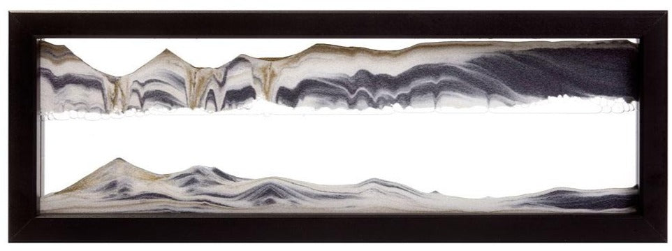 Picture of Triple-X Black Sand Art- By Klaus Bosch Sold By MovingSandArt.com
