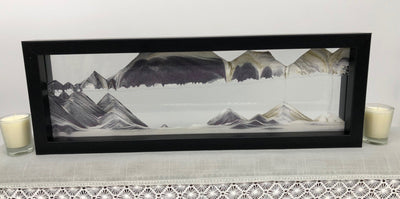 Picture of KB Collection Triple X Black Sand Art - By Klaus Bosch sold by MovingSandArt.com