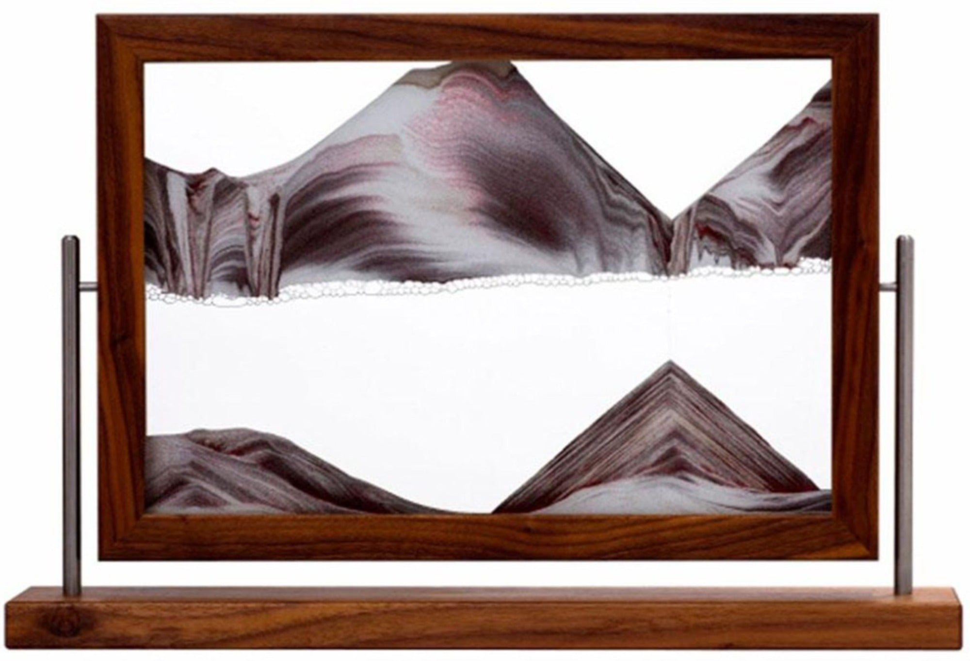 Picture of KB Collection Masterpiece Series Ballerina Walnut Sand Art- By Klaus Bosch sold by MovingSandArt.com