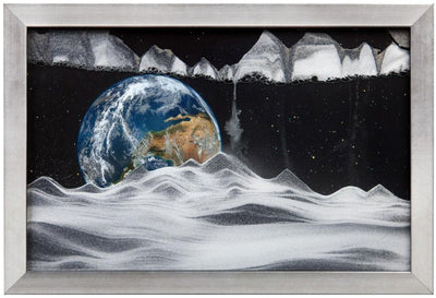 Picture of KB Collection Movie Series Wall Mount Apollo Earth Sand Art - By Klaus Bosch sold by MovingSandArt.com