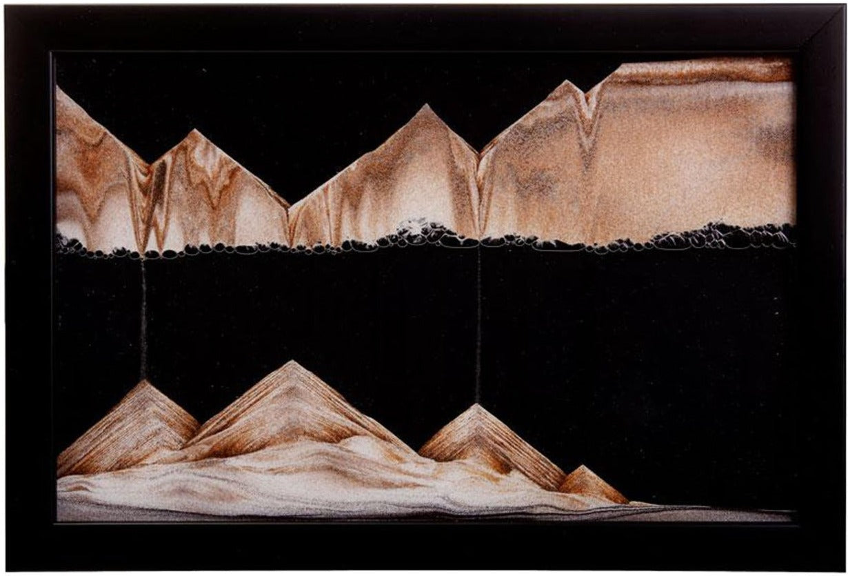 Picture of KB Collection Movie Series Wall Mount Midnight Sand Art - By Klaus Bosch sold by MovingSandArt.com