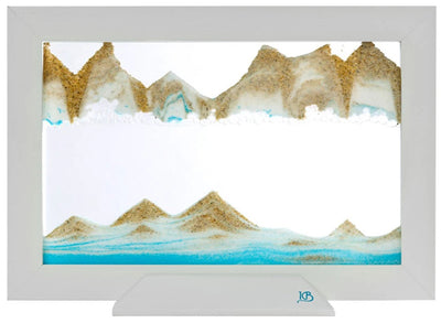 Picture of KB Collection Silhouette Blue Ocean Sand Art - By Klaus Bosch sold by MovingSandArt.com