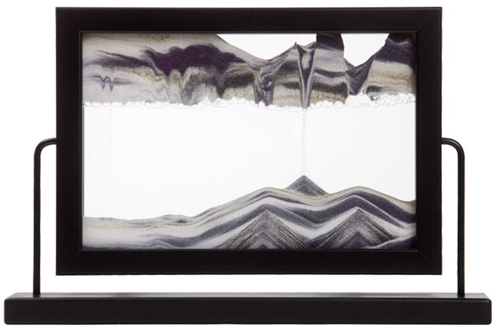 Window Black Moving Sand Art- By Klaus Bosch