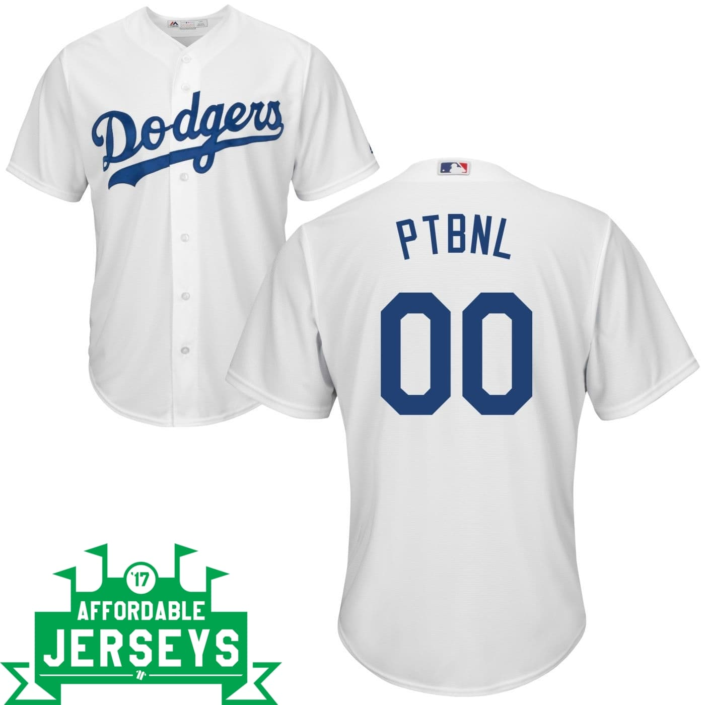 Dodgers PTBNL Home Cool Base Player Jersey