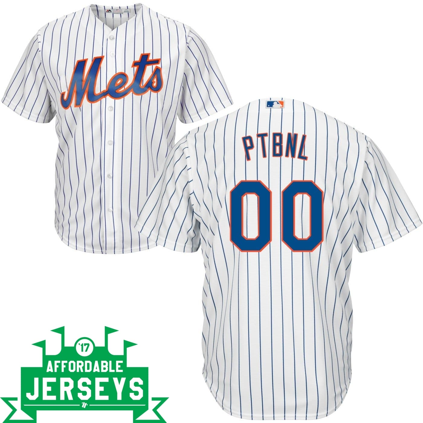 Mets PTBNL Home Cool Base Player Jersey