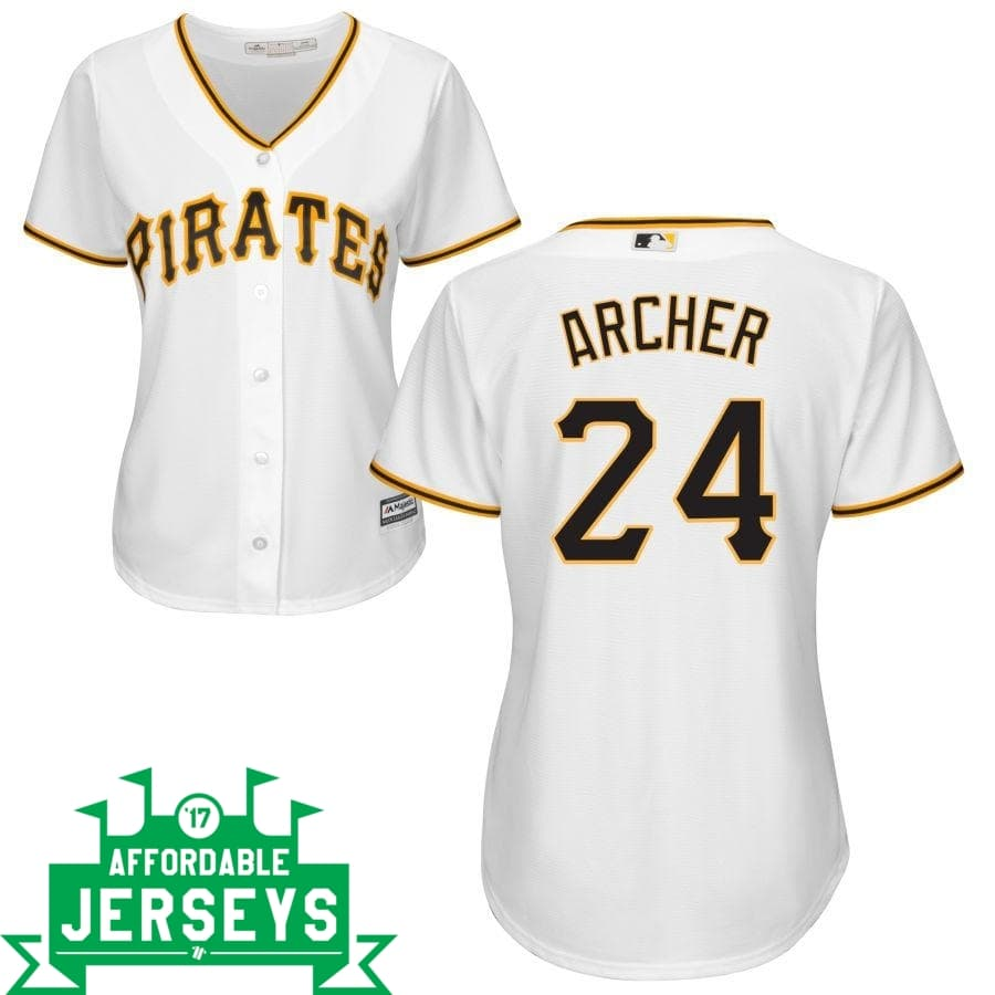 Chris Archer Home Women's Cool Base Player Jersey - AffordableJerseys.com