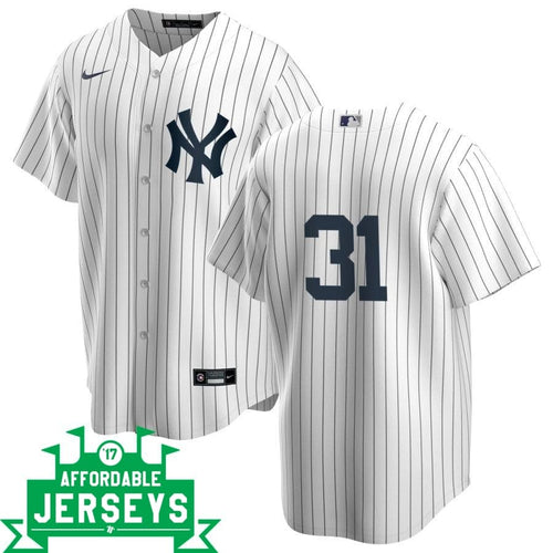 Aaron Hicks Home Nike Replica Player Jersey - AffordableJerseys.com