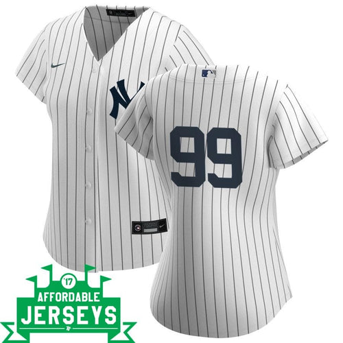Aaron Judge Home Women's Nike Replica Player Jersey - AffordableJerseys.com