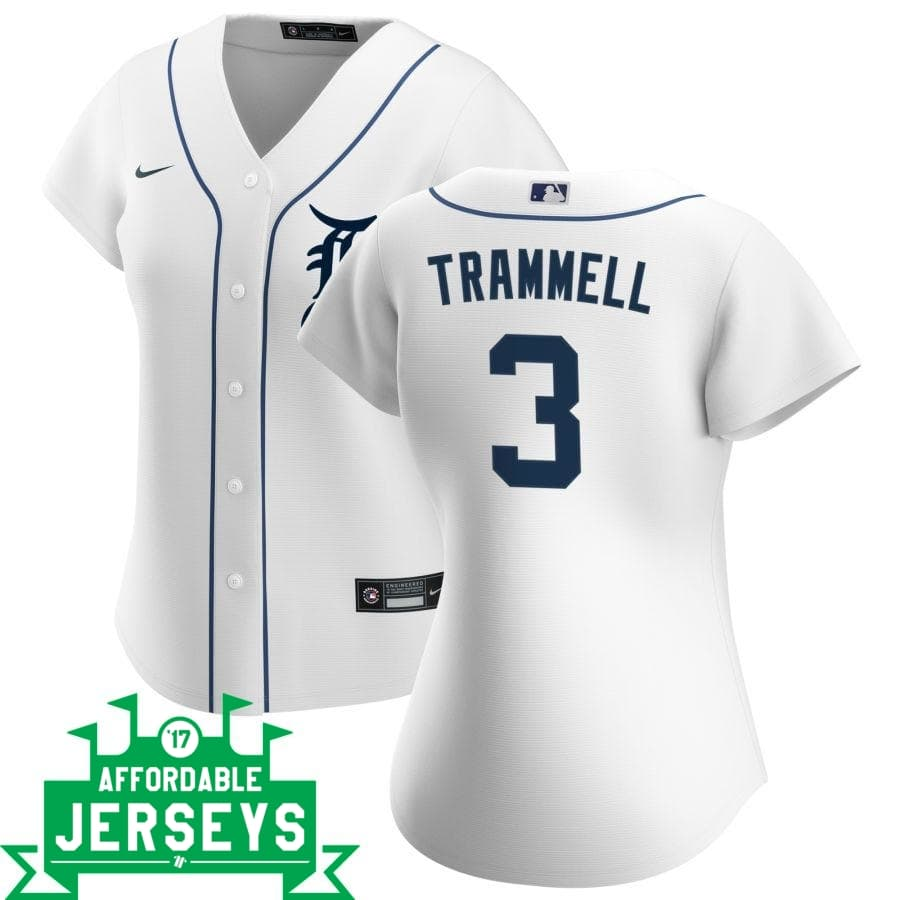 Alan Trammell Home Women's Nike Replica Player Jersey - AffordableJerseys.com