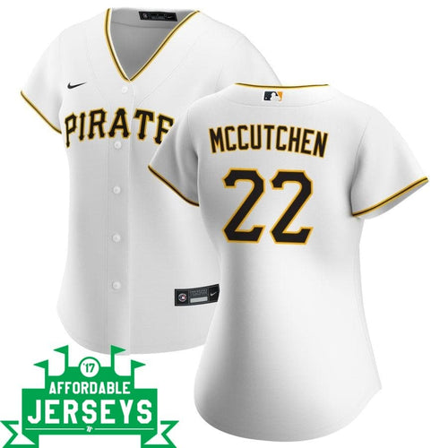 Andrew McCutchen Home Women's Nike Replica Player Jersey - AffordableJerseys.com