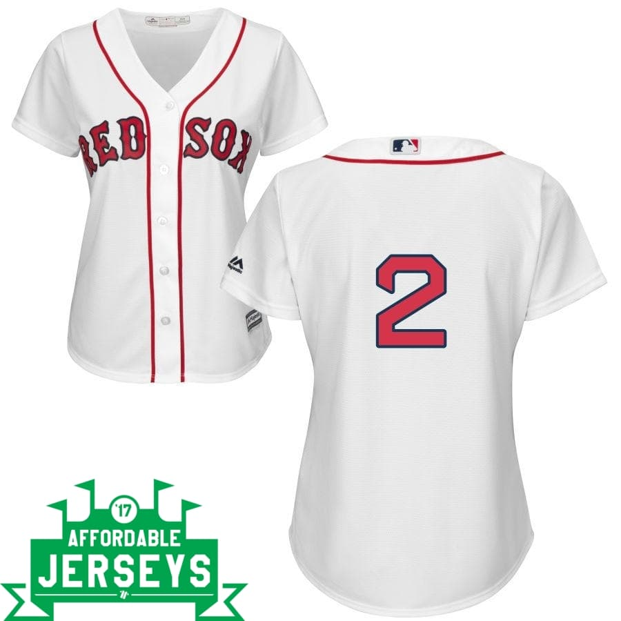 Xander Boegarts Home Women's Cool Base Player Jersey - AffordableJerseys.com