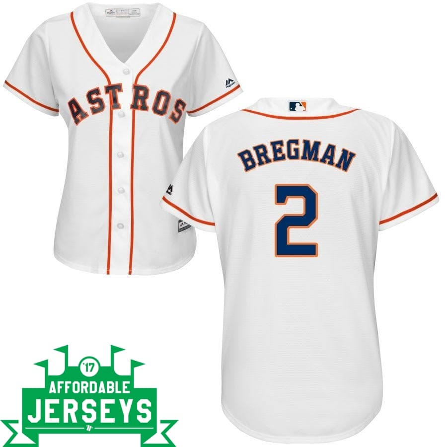 Alex Bregman Home Women's Cool Base Player Jersey