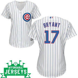 Kris Bryant Home Women's Cool Base Player Jersey