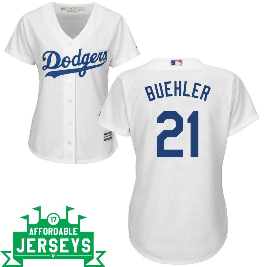 Walker Buehler Home Women's Cool Base Player Jersey