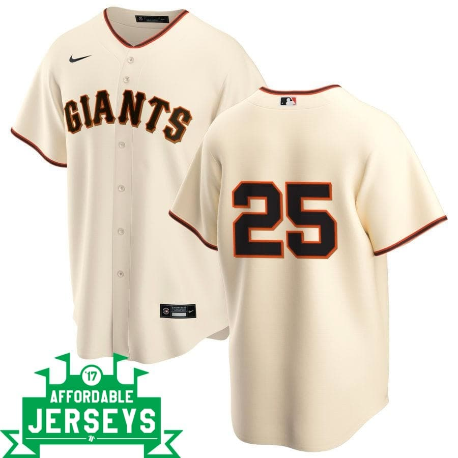 Barry Bonds Home Nike Replica Player Jersey - AffordableJerseys.com