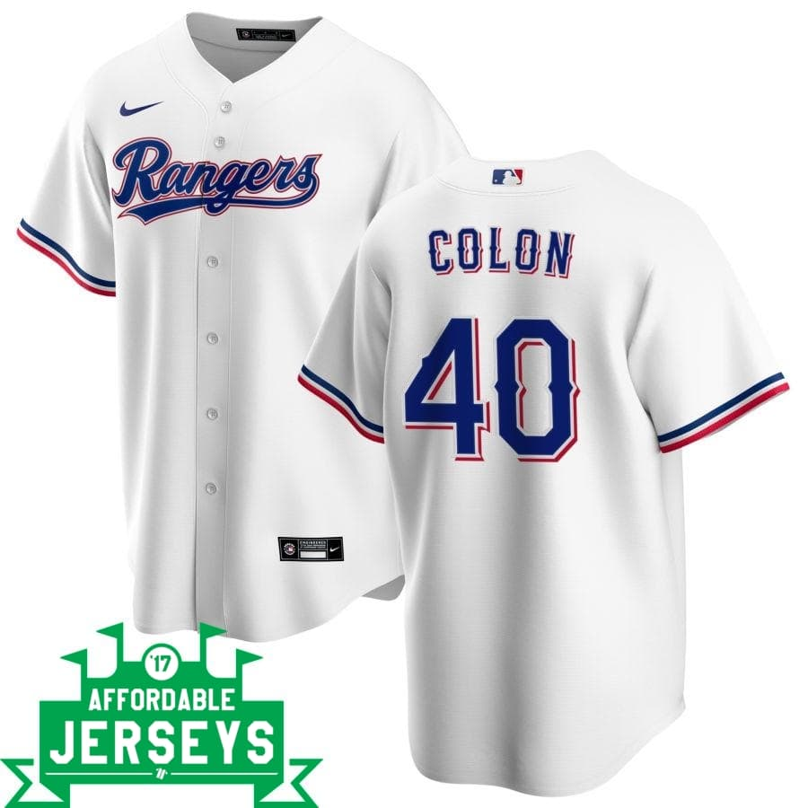 Bartolo Colon Home Nike Replica Player Jersey
