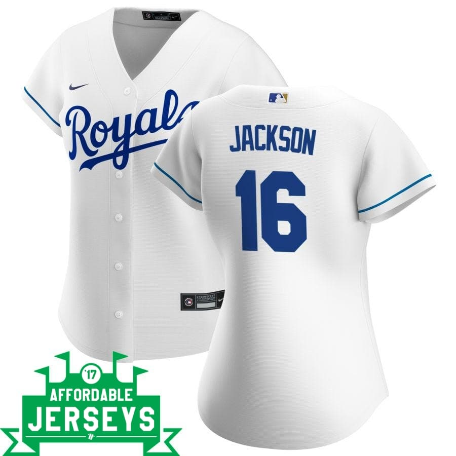 Bo Jackson Home Women's Nike Replica Player Jersey - AffordableJerseys.com